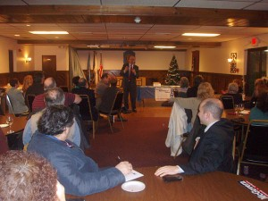 Jim McGovern addresses the GBV Dems and their guests